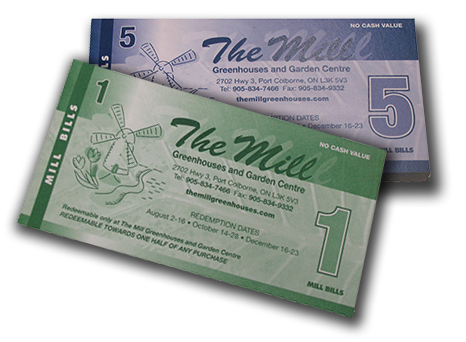 Find out how you can save up to 50% off your purchases with our Mill Bill promotion!